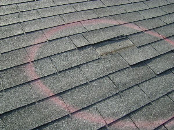 storm roof damage repair